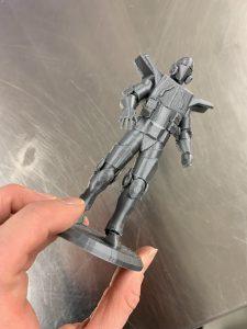 Lauri Rajalan ensimmäinen 3D-mallinnos ja tulostus on valmis.